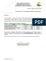 Edital 53-2019 - Alterao de Banca Examinadora - Quadro 11 - Professor Efetivo - Edital 11