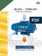 Cat Vacuum Blowers RBDV de S241F1