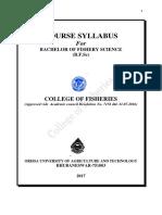 Bfsc Syllabus(5th Dcr)