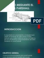 Aforo Mediante El Canal Parshall