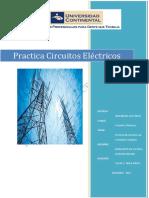 Benavente de La Cruz Edgard Trabajo 01 PRACTICA CIRCUITOS ELECTRICOS