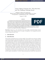 A Systematic Literature Mining of Sponge City