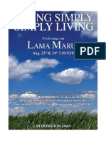 Simply Living Hand Out