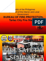 Fire Safety Lecture PPP