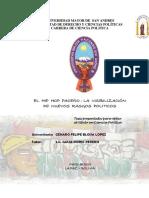 El Hip Hop Paceño - La Visibilización de la cultura urbana