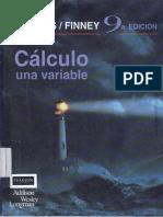 Calculo Una Variable - Thomas & Finney