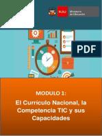 El Curriculo Nacional La Competencia TIC