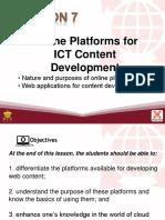 L7 Online Platforms for ICT Content Development.pptx