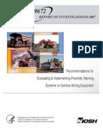 NIOSH Proximity Awareness Evaluation
