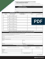 Formulario Cheque Emergencia