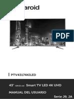 Manual Ptv43174kiled Series j9 Ja