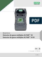 Altair 5x - Manual en Español