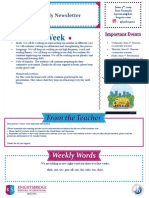 weekly newsletter june 4th