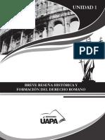 Manual de Derecho Romano Cap.1