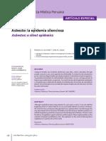 Asbesto en la salud