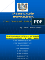 1.3. Investigación Monográfica