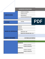 Hoja de Metrado de Estructuras Version Cc