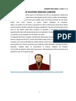 CALENDARIO CÍVICO ESCOLAR - III CICLO (1°, 2°)  - JUNIO