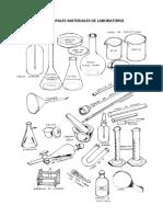 Principales Materiales de Laboratorio