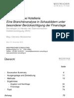 Anliza Finainciara a Hotelurilor Din Austria