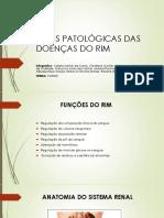 Bases patológicas das doenças dos rins