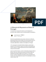 A Historia Da Maçonaria No Reino de Portugal. – Ação Orleanista – Medium[1]