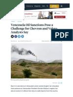 Oil Sanction