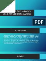 Estructura en Sandwich Del Evangelio de Marcos