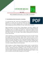 reference letter - lycee de kigali