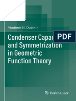 Condenser Capacities And Symmetric