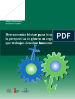 Herramientas Integrar Genero Ddhh-2008