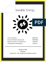renewable energy  1   1