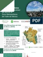 Medidas para mejorar la calidad del aire en la Zona Metropolitana