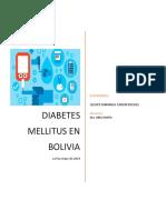 Diabetes en bolivia