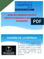 Análisis Administrativo (Grupo Económico Ikeda – San Fernando)