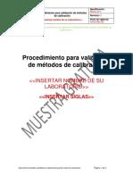 Muestra Procedimiento ISO IEC 17025 2017
