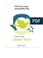 Peace Corps Sustainability Plan