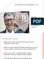 Case Study Bill Gates
