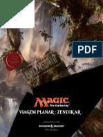 DnD 5e - Zendikar - Viagem Planar - Magic the Gathering