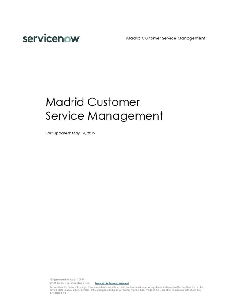 Customer Service Management | Plug In (Computing) | Trademark