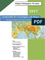 Cuadernillo de Cronologías y de Mapas