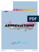 a320 - Abbreviations List - Iss-03 - May 2016