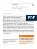 The Accuracy of Acquiring Heart Rate Variability From Portable Devices_ a Systematic Review and Meta-Analysis