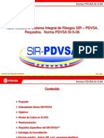 Módulo 8. Taller SIR Requisitos PDVSA