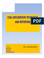 Reporting Coal Exploration FriederichM