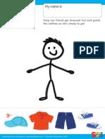 Caities Classroom Worksheet Get Dressed