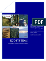 ECOSYSTEMS Research Paper CCBST_Sanya Wedemier Graham