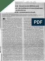 Elementos Burocraticos y Factores Proteccionistas Se Unen Contra La Politica Comercial - El Universal 28.12.1989