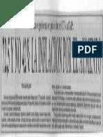 Estima Gobierno en Peticion de CTV a CAP- 72,5, y No 42% La Inflacion Por El Aumento - El Mundo 13.12.1989
