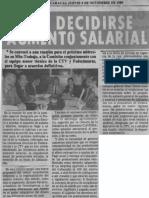 Sin Decidirse Aumento Salarial - Diario La Religion 09.11.1989